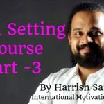 Goal Setting Course Part – 3
